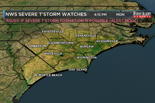 Severe T-Storm Warnings